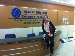 Albert  Einstein Hospital, SP – August 2013