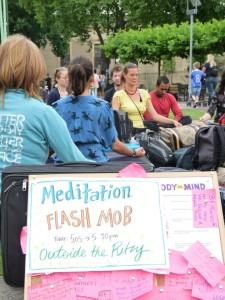 Public Understanding of Mindfulness (PUMA) Flash Mob