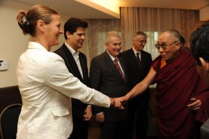 Meeting the Dali Lama