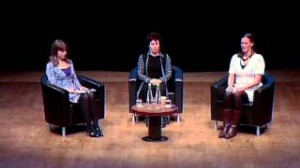 Tamara Russell, Ruby Wax and Claudia Hammond