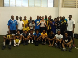 University of the West Indies BMT training Jan 2013