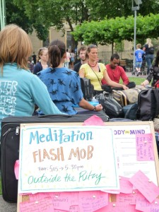 Public Understanding of Mindfulness (PUMA) Flash Mob